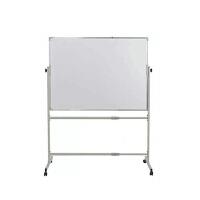 学生黑板 家用 支架式 教学白板绿板移动办公双面白板多款色可选 100X150CM双面白板 支架式