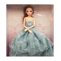 娃娃套装大礼盒 女孩仿真模特公主3D立体换装婚纱玩具女士汽车摆件 30-50厘米