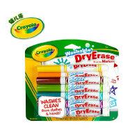 绘儿乐 Crayola 12色可水洗 易擦 快干白板水笔 安全无毒