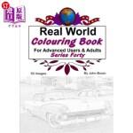 【中商海外直订】Real World Colouring Books Series 40