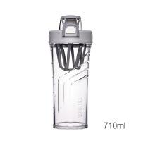 家居摇摇杯健身搅拌杯奶昔水杯子蛋白粉运动便携夏季塑料TP4086