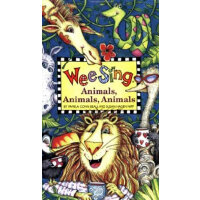 Wee Sing Animals, Animals, Animals(With CD) 欧美经典儿歌:动物大游行(附C