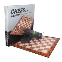仿桃木国际象棋 大号 2906 磁性国际象棋 立体带磁力 结实耐用