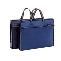 可定制logo贝多美086双层拉链袋 手提袋 文件袋 商务会议包 公文包 单个装