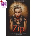 【中商海外直订】Zip (Tessa Dark Trilogy) Book 2