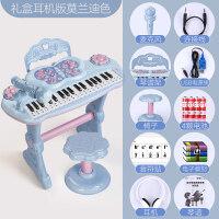 电子琴玩具小钢琴儿童初学者入门宝宝1-3岁6女孩可弹奏音乐多功能定制