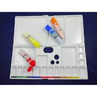 SAKURA樱花水彩调色盒 多功能折叠调色板 颜料调色盒 美术用品