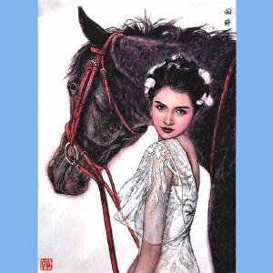 中国美协会员,中国国家机关美术协会会员,中国女画家协会会员刘夏(回眸)22