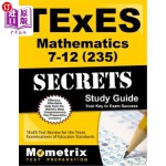 【中商海外直订】TExES Mathematics 7-12 (235) Secrets Study Guide: T
