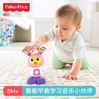 现货音乐伙伴小贝贝DYM09 婴儿学习拍打早教音乐跳舞玩具 随机颜色发货
