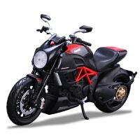 1:12杜卡迪大魔鬼雅马哈本田KTM仿真摩托车模型 摆件礼物男品质定制 川崎 ZX-14R