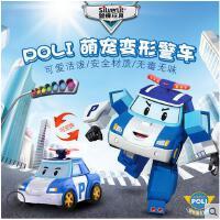 银辉 变形警车珀利机器人儿童玩具车poli套装 变形机器人珀利机器人 silverlit银辉 变形警车珀利机器人模型儿