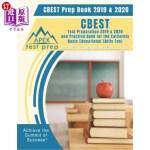 【中商海外直订】CBEST Prep Book 2019 & 2020: CBEST Test Preparation
