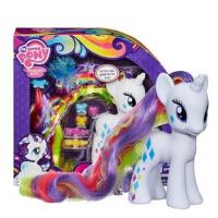 小马宝莉彩虹系列 6英寸 小马白色珍奇换装女孩玩具模型