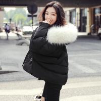 短款羽绒服女2019韩版白鸭绒黑色显瘦冬季外套