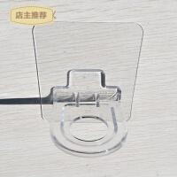 免打孔洗手液架浴室粘钩 吸壁式置物架整理收纳架沐浴露瓶架挂钩SN7157