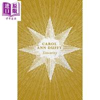 【中商原版】卡罗尔・安・达菲:真挚 英文原版 Sincerity 外国诗歌 Carol Ann Duffy