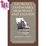 【中商海外直订】Georgia's Landmarks, Memorials, and Legends