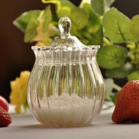 密封玻璃糖罐糖缸盐罐储物罐茶叶罐糖果罐调味罐调料瓶
