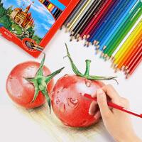 德国辉柏嘉油性彩铅红盒 36色48色72色彩色铅笔手绘彩铅笔填色笔
