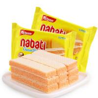 [当当自营] 印尼进口 丽芝士 Richeese 纳宝帝奶酪威化饼干 58g