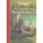 Classic Starts: The Adventures of Robin Hood《罗宾汉历险记》精装 ISBN 9781402712579