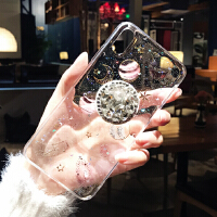 水�@�W粉星空透明iPhone xs max手�C�づ�款�W�t6s硅�z套八iphonex外��xr�O果7pl i7/8 4.7