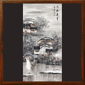 《人和年丰》李世杰 北京美协会员 职业画家R3559