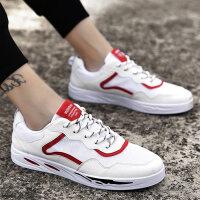 夏季男鞋子帆布鞋男板鞋布鞋韩版学生休闲鞋透气新款潮鞋 705红色 39