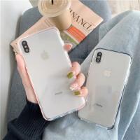 高清透明软壳8plus/7p/6s苹果x手机壳XS Max/XR/iPhoneX女iphone11Pro套个性创意全包边
