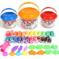 智高KK-330 24色 颜色图案随机 桶装3D彩泥模具套装当当自营