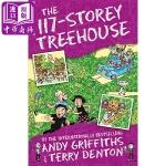 【中商原版】现货 小屁孩树屋历险记 117层树屋故事 The 117 Storey Treehouse 疯狂树屋历险记