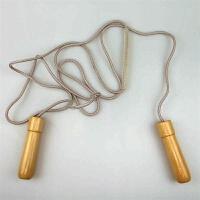 实木柄跳绳 竞技跳绳 耐磨轴承跳绳 专业 健乐跳绳 加重减肥