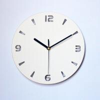 客厅背光钟简约静音挂钟装饰挂钟夜光钟可作小夜灯氛围灯卧室时钟