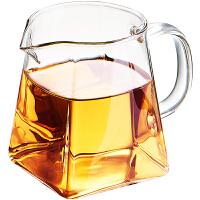 公道杯茶漏一体套装玻璃功夫茶具套装公杯分茶耐热配件倒茶器