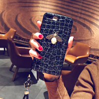 创意iPhone7Plus手机壳8挂绳硅胶套x苹果6女款奢华6sp个性硬壳i潮