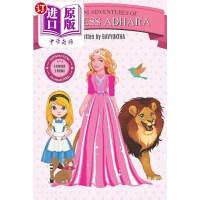 【中商海外直订】Mini Adventures of Princess Adhara: 3 Short Stories
