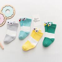 婴儿袜子0秋冬男女宝宝3中筒12个月幼童1初生松口2岁
