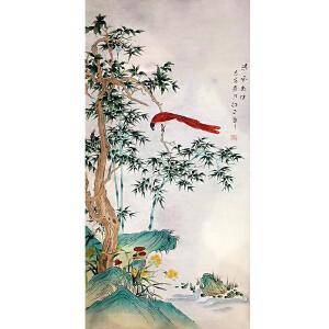 山东菏泽人,中国牡丹书画艺术研究院院长吴绍正(清风为伴)33
