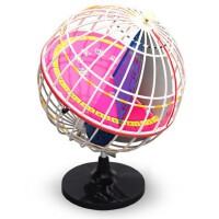 地球仪 J3405经纬度模型 32cm地球经纬仪 初高中学地理教学仪器实验器材 地理教学仪器实验器材