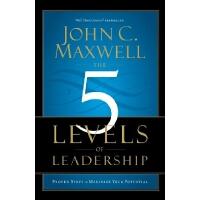 英文原版 领导力的5个层次 The 5 Levels of Leadership: Proven Steps to M