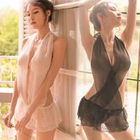 情趣内衣服性感透视装三点骚血滴子小胸睡裙激情夜火制服用品套装