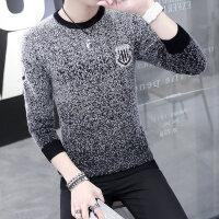 2018秋冬季毛衣男士针织衫韩版圆领线衫修身套头线衣潮流男装衣服