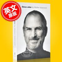 现货 乔布斯传 英文原版 Steve Jobs 史蒂夫・乔布斯 苹果公司联合创始人 传记作家沃尔特・艾萨克森作品