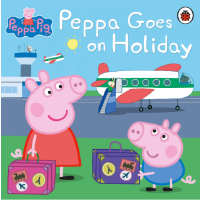现货 小猪佩奇去度假 英文原版 Peppa Goes on Holiday 粉红猪小妹 3-6岁宝宝 绘本 ladyb