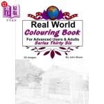 【中商海外直订】Real World Colouring Books Series 36