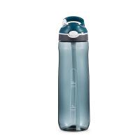 塑料杯子创意潮流韩国男生 水杯塑料便携创意潮流带吸管杯男韩版女学生清新可爱韩国杯子