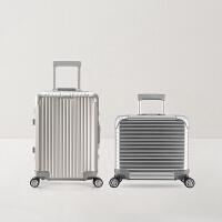 【领40元礼券】网易严选 可登机全铝镁登机箱拉杆箱系列(17/20寸)出差旅行收纳行李箱