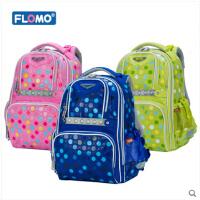 Flomo富乐梦人因护脊书包儿童双肩减负包小学生男女1-3年级CL-503