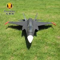 遥控飞机航模固定翼F-35涵道航模飞机遥控飞机战斗机70涵道固定翼航模喷气式飞机模型遥控飞机耐摔 F35涵道战斗机带伸